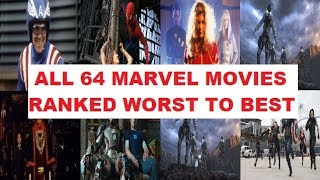 All 64 Marvel Movies Ranked Worst To Best (1944-2020)