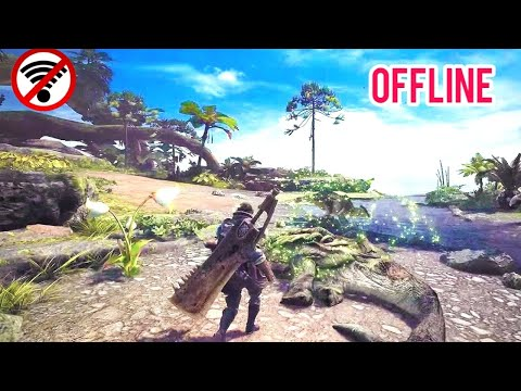 Top 10 Monster Hunter Games For Android OFFLINE HD