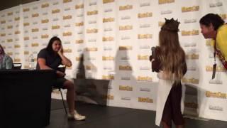MegaCon 2016 Carlos Valdes makes a little girl's dream come true!