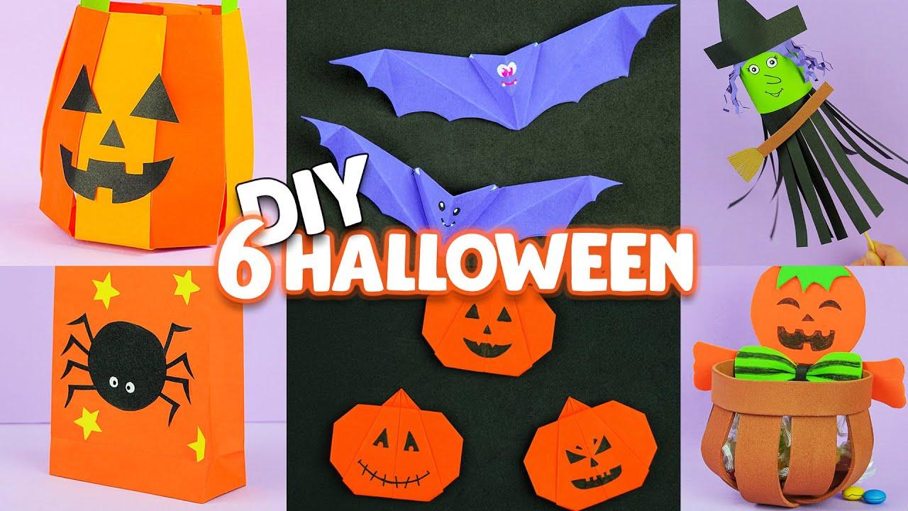 6 Lavoretti per Halloween fai da te: Idee Semplici e Creative | DIY Halloween Craft Ideas