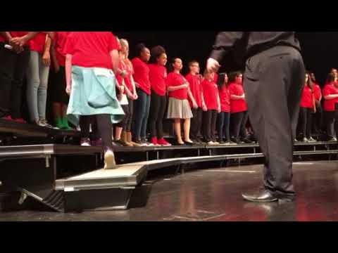 Breckinridge Middle School Winter Concert Part 1