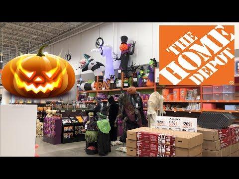 Home Depot Halloween Decorations 2019 - 4K Video