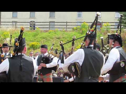 Columcille School of Piping and Drumming USA Pipe Band @ All Ireland Championships 2018
