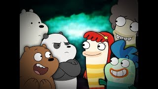 We Bare Bears Vs Fish Hooks (SCRAPPED CONTENT)