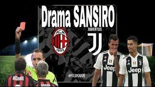 Juventus hasil pertandingan Milan vs Juventus Ronaldo hilangkan kutukan dan Higuain kartu merah