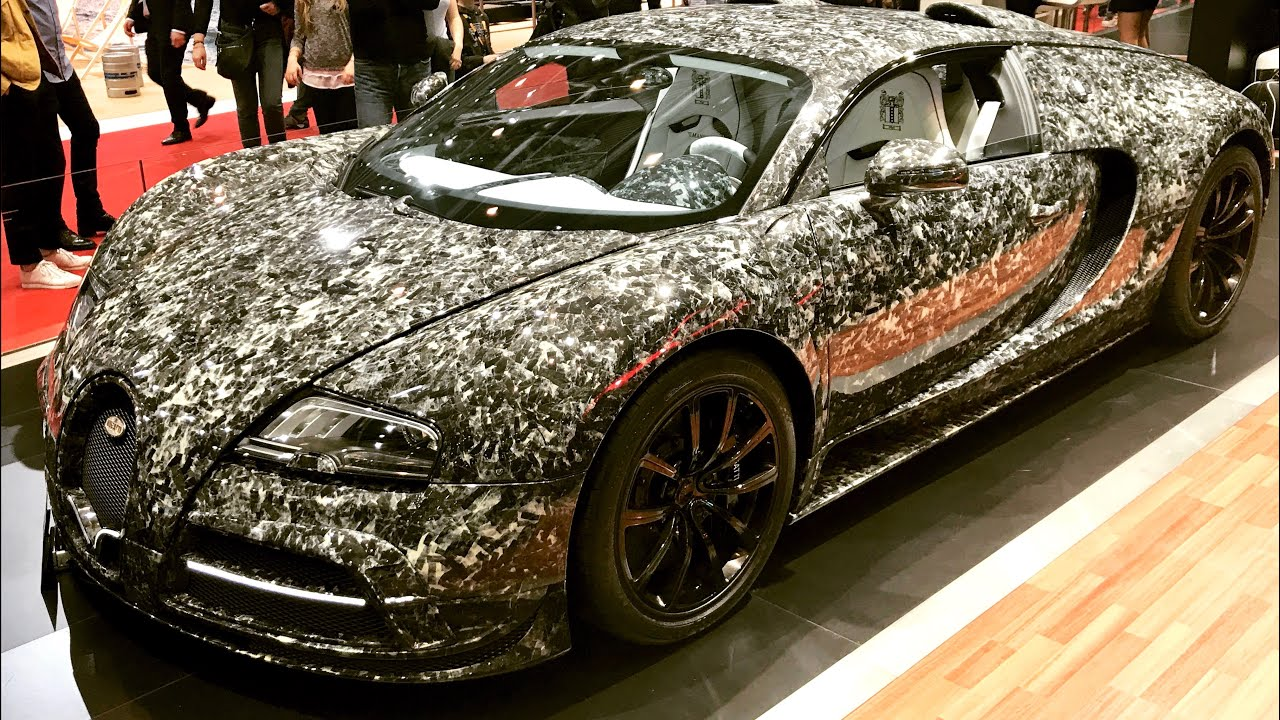 Charming Marble Collage Carbon MANSORY Bugatti Veyron Vivere Diamond Edition (4K)