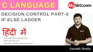 if else ladder in C language