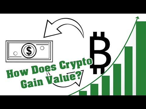 How Do Cryptocurrencies Work & Gain Value? | Cryptocurrency Explained For Beginners | CP B&W