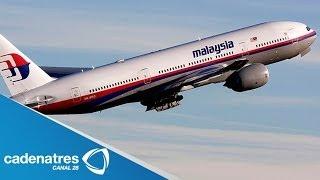 ¿Qué ocurrió con el avión MH 370 de Malasia desaparecido?