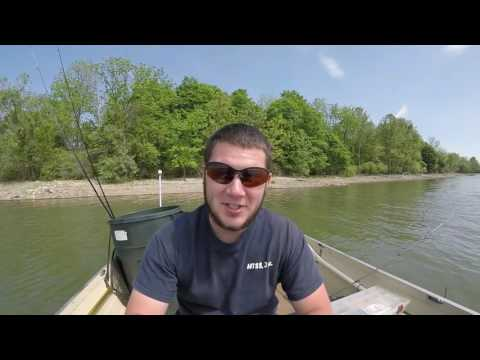 Spruce Run Bass Fishing 5-21-17 Nick's Personal Best!