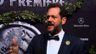 Jurassic World Premiere Interview - Michael Giacchino