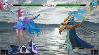Seraphine vs Sona | Full Build FIGHTS