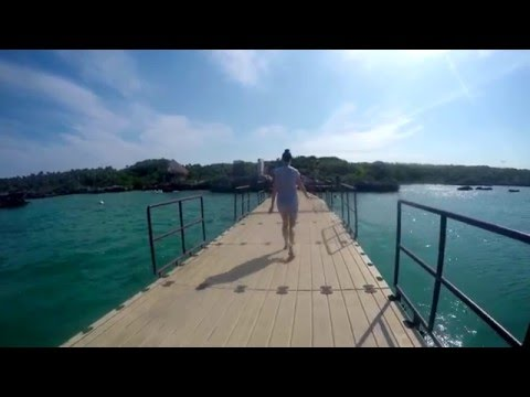 The Floating Bridge of Xel-Há - Mexico 2016 4k