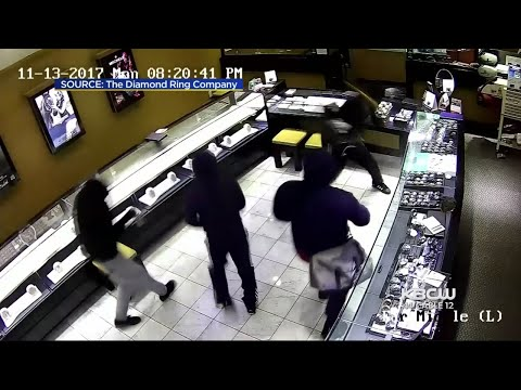 Shatter-Proof Glass Foils Pleasanton Jewelry Store Robbers