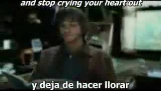 Stop crying your heart out by Oasis (Subtitulado)