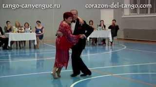 Martha Antón & Manolo «El Gallego» Salvador - 1 - Tango Canyengue. Fest «Corazón del Tango» (2013)