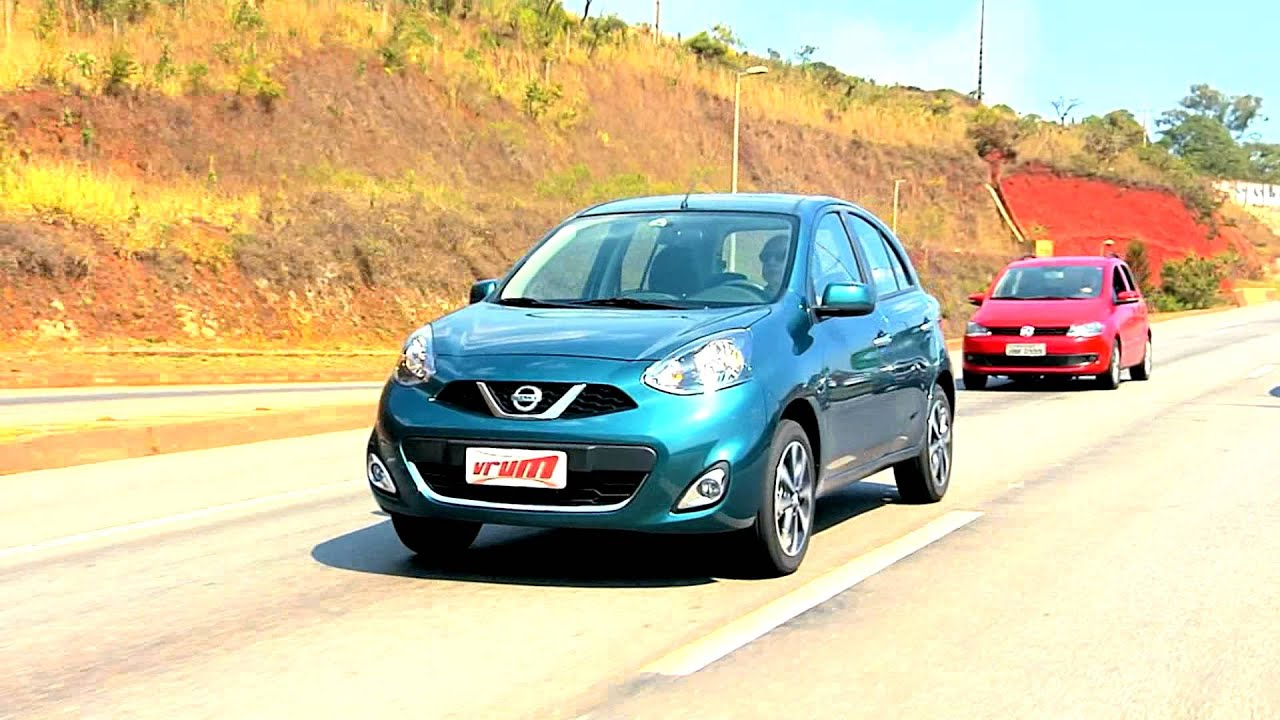 Nissan March Vale A Pena Confira No Teste Do Vrum Youtube