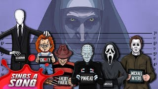Horror Characters Cypher 2 (ft. Michael Myers, Freddy, Chucky, Slender Man, Pinhead and Ghostface)
