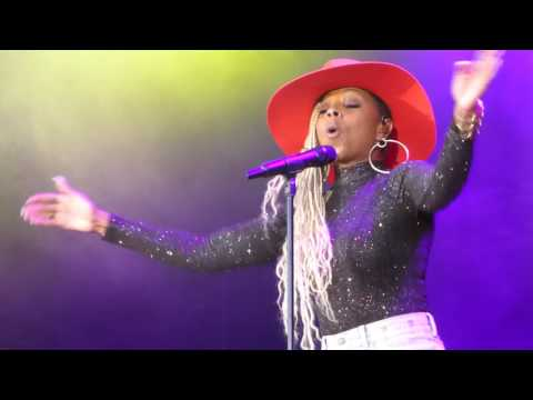 Mary J Blige - 'Thick Of It' - Liseberg, Gothenburg, 22nd July 2017