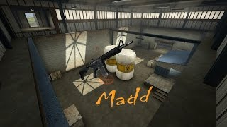 CS:GO M4A4 Montage |Exile| Madd
