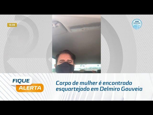Corpo de mulher é encontrado esquartejado em Delmiro Gouveia