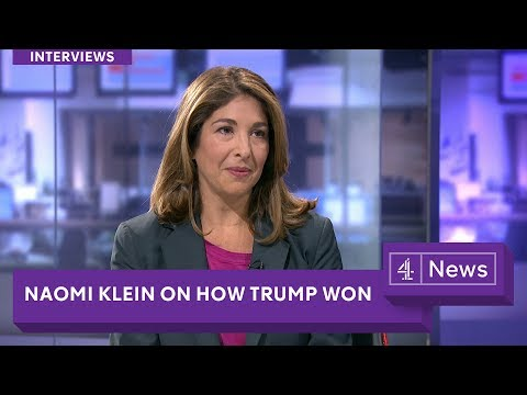 "Naomi Klein on Trump, Corbyn and the global ""war on affordable housing"" (extended interview)"