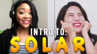Reaction to [MAMAMOO] THIS IS SOLAR - MY BIAS!!!