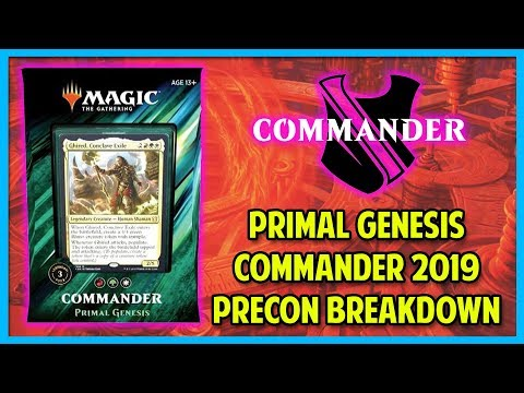 A Guide To Commander 2019: Primal Genesis Breakdowns And Upgrades