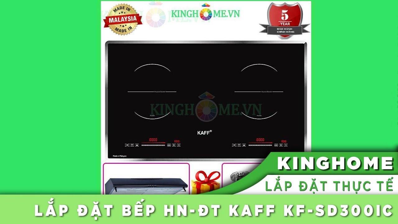 Bếp hồng ngoại điện từ đôi Kaff KF-SD300IC
