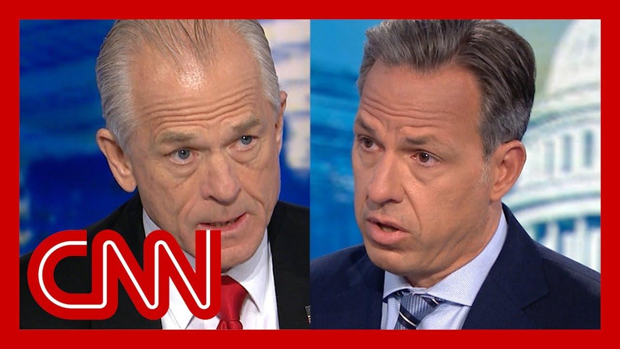 CNN:WH trade adviser: Tariffs aren't hurting anybody here