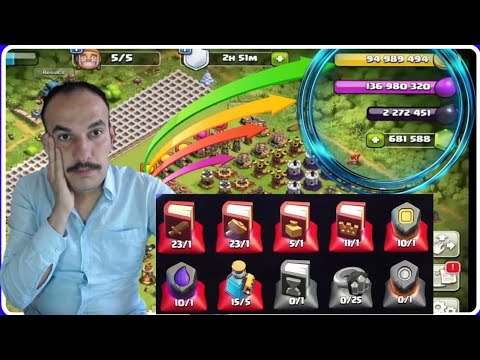 681588 GEM İLE MAKS KÖY BİNASI 12 Clash Of Clans