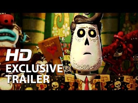 The Book Of Life | Official Trailer #1 HD | Guillermo Del Toro 2014