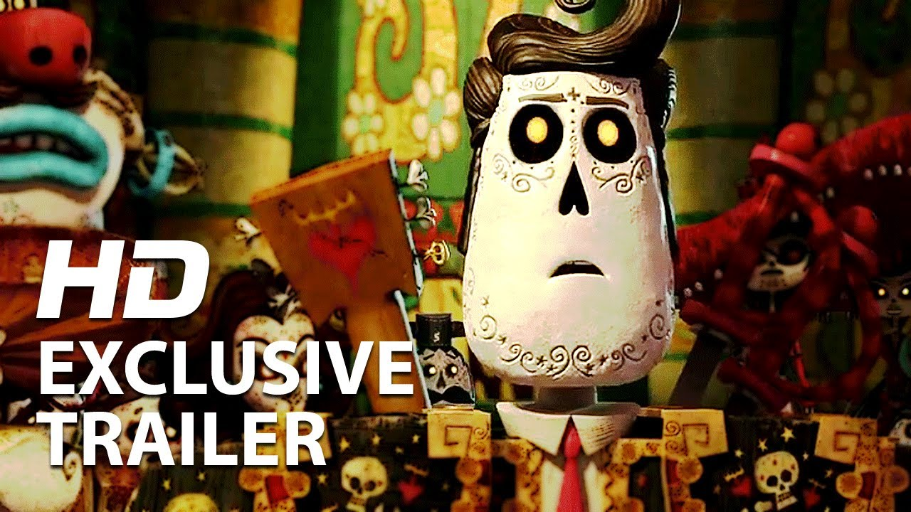 The Book Of Life Official Trailer 1 Hd Guillermo Del Toro