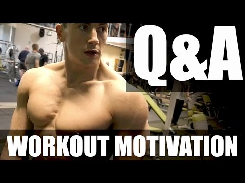 Workout Motivation & Q&A | Ask Me Anything! | Martin Silva WBFF Pro!