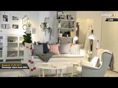 Otvaranje robne kuće IKEA u Beogradu