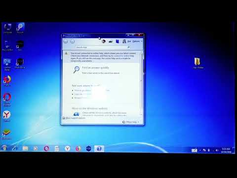 How To Stop Showing Windows Help And Support Pop-up In Windows 7 | Disable Window Help And Support