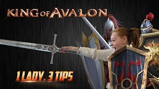 KoA - 1 Lady, 3 Tips with Lady of Avalon(King of Avalon – Dragon Warfare Download now! http://bit.ly/Download_KoA With subtitles. Please click
