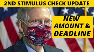 NEW White House AMOUNT & DEADLINE! Hazard Pay, Second Stimulus Check Update, Stimulus Package Update