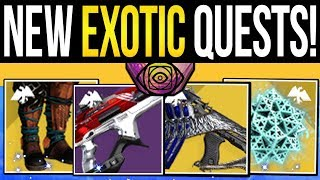 Destiny 2 | NEW EXOTIC QUESTS! Ritual Weapons, Exotic Armor & Dawn DLC Quests (Season of Dawn)