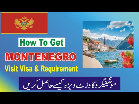 Montenegro Visa And Requirements | Montenegro Visit Visa For All Citizens