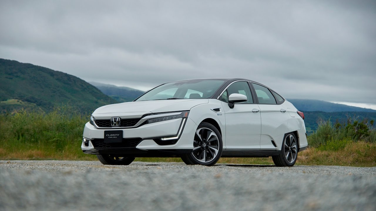 Honda Clarity Hydrogen Fuel Cell Car First Drive