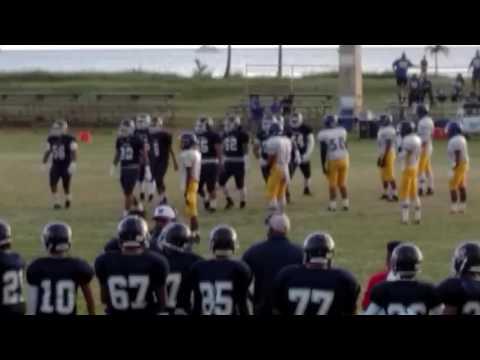 Wilson #63 Waianae Football Right Guard