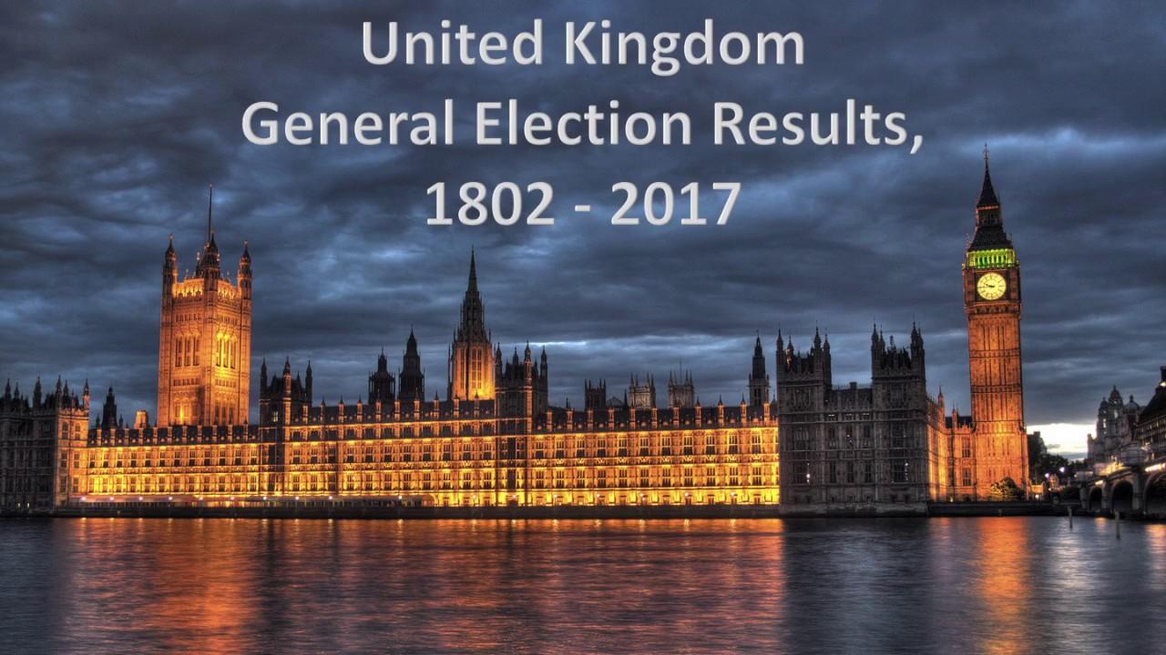 U. K. General Election Results...