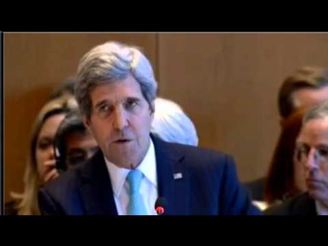 Secretary Kerry Delivers Remarks at the Geneva ll International Conference on Syria