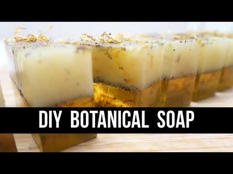 DIY Botanical Soap { For Beginners! } | Royalty Soaps