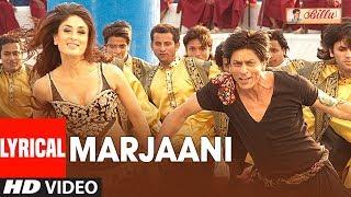 LYIRCAL: Marjaani Song | Billu | Shahrukh Khan | Kareena Kapoor | Sukhwinder Singh, Sunidhi Chauhan