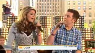 scotty mccreery and lauren alaina i told you so today show 06 02 11