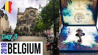 VLOG Europe adventures, Brussels, Planaxis, Tomorrowland invitation,  Manneken Pis, Day 3