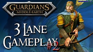 """TwC"" Guardians Of Middle Earth - 3 Lane Gameplay #2  (1080p HD 60fps)"