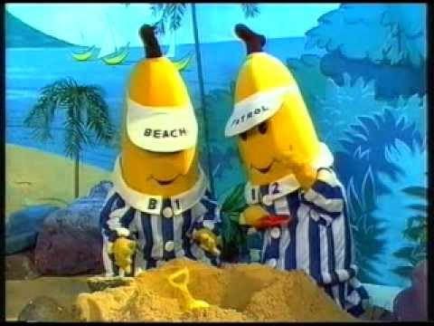 VHS-Tripp 13: Kosmos och Kattis, Bananer i pyjamas